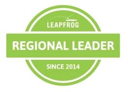 Leapfrog Regional Leader logo